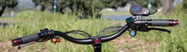 Zero 10X handlebar close up