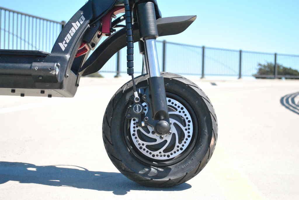 Kaabo Wolf Warrior 11 front disc brake